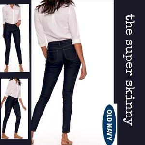 Super Skinny Mid Rise Jean